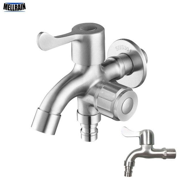 Doppelfunktion Waschmaschine Wasserhahn 304 Edelstahl Bad Kuche