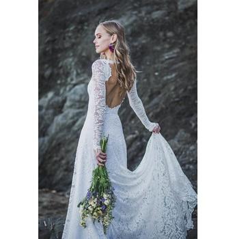 Robe de Mariage Bohème Vintage Jeanne
