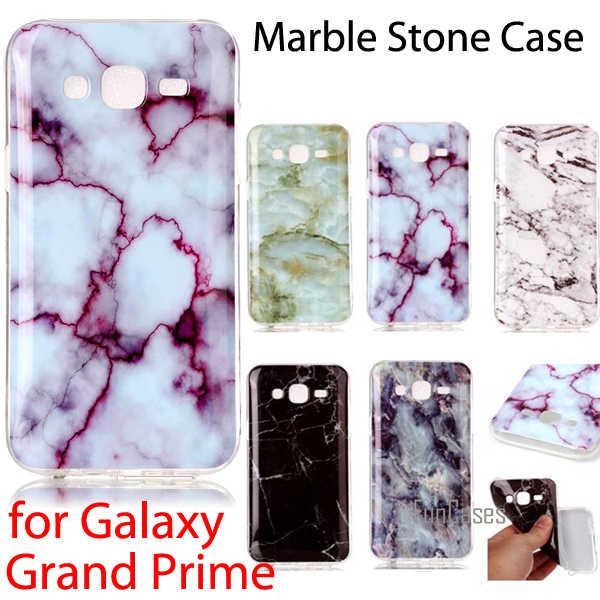 Marmo Stone Collection SM-G530H G530F G530FZ/SM-G531F G531H Coque Flessibile TPU Soft Cover Per SAMSUNG Galaxy Gran Prime Caso