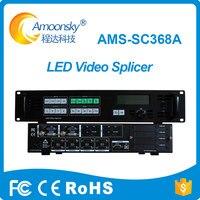 AMS SC368A Multi экран сплайсинга процессор Quad выходы видео процессор управления Светодиодный дисплей Поддержка 8 отправки карт