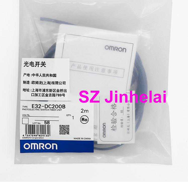E32-DC200B Authentic original OMRON PHOTOELECTRIC SWITCH FIBER UNIT