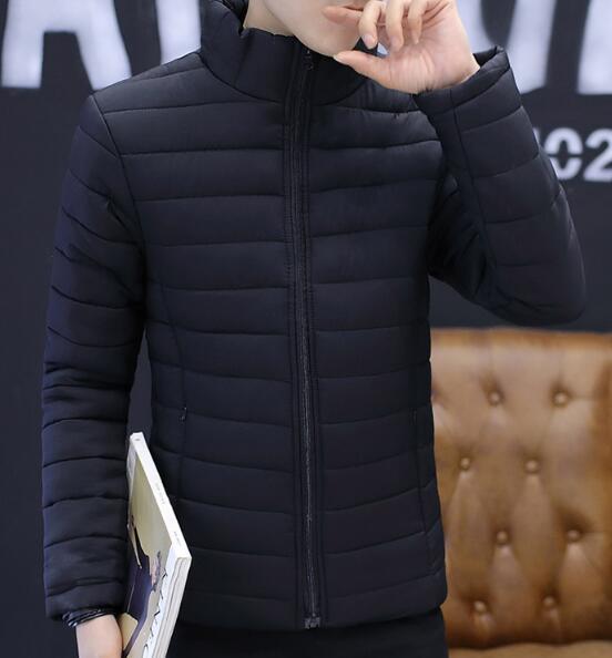 2019 толстый подростковый мужской зимний тренд хлопковая куртка короткая одежда