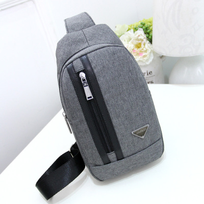 2017 New Mens Waist Packs!Hot Male Fashion Canvas riding chest pockets Top Shopping bags mobile&change storager Carrier