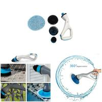 Hurricane Muscle Scrubber Electrical Cleaning Brush for Bathroom Bathtub Shower Tile YU Home