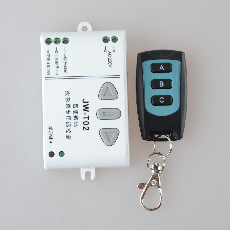 цена на AC 220V Motor RF Wireless Remote Control Switch 220V UP&DOWN Remote controller Motor Forwards Reversing Remote Switch 315/433MHZ