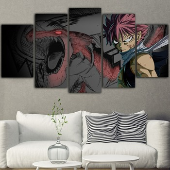 5pieces Canvas Painting Naruto Poster Anime Quadri Su Tela Per Soggiorno Tableau Mural Posters And Prints Obrazy Waterproof Ink Buy At The Price Of 5 50 In Aliexpress Com Imall Com