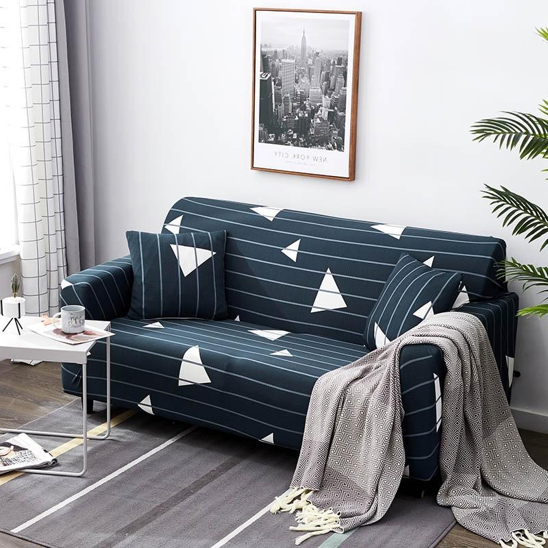 Spandex Sofa Slipcover Elastic Sectional Sofa Covers Stretch Cubre Sofa L shape Sofa Cover for Living Room copridivano 1PC