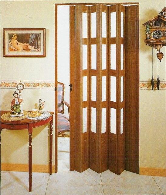 China Grosir Kaca Pvc Dilipat Pintu Ruang Tamu Dapur Balkon Interior