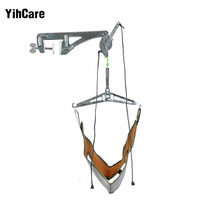 YihCare Door Hanging Neck Pain Relief Massager Cervical Traction Device Kit Stretch Neck Back Stretcher Adjustment