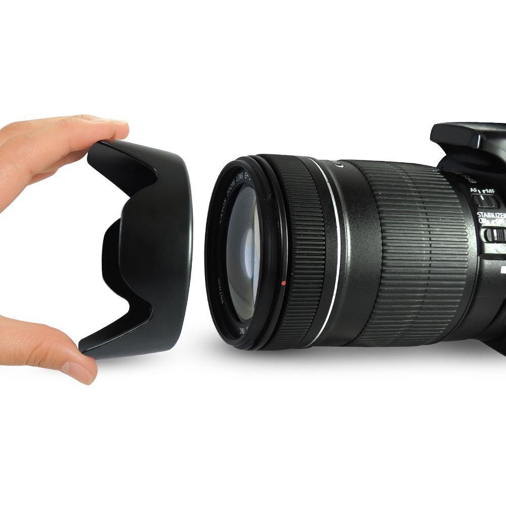 EW-73B 67mm ew 73b EW73B Lens Hood Reversible Camera Lente Accessories for Canon 650D 550D 600D 60D 700D 18-135 17-85 mm Lens 7