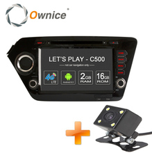 Ownice Android 6.0 Quad Core 2GB RAM for Kia k2 RIO 2010 – 2015 car dvd player GPS Navi Support 4G LTE Network DAB+ DVR TPMS