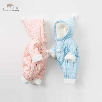 DBM8999 dave bella winter newborn unisex fashion stars print romper infant onesies children lovely romper baby jumpsuit - DISCOUNT ITEM  50 OFF All Category