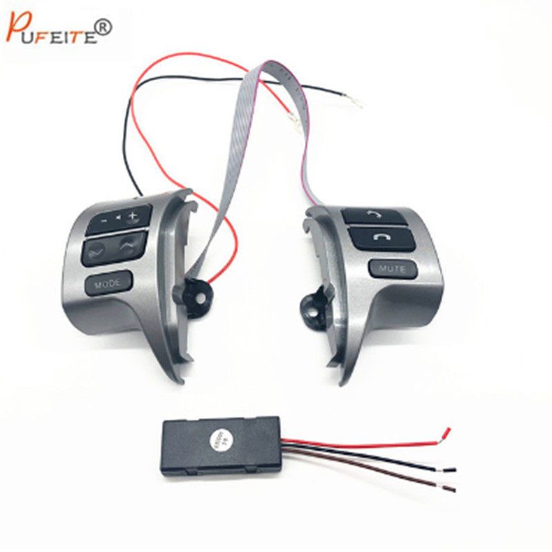Car -styling buttons For Toyota corolla 2007-2016 OEM 84250-02200 / 12020 Car steering wheel control buttons free shipping oem 84250 60160 b0 good quality car steering wheel switch controller for toyota prado
