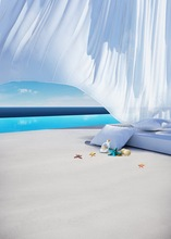 Customized Sea Beach Villa Curtain Photo Studio Background Vinyl Digital Cloth Print Photography Backdrops S 542