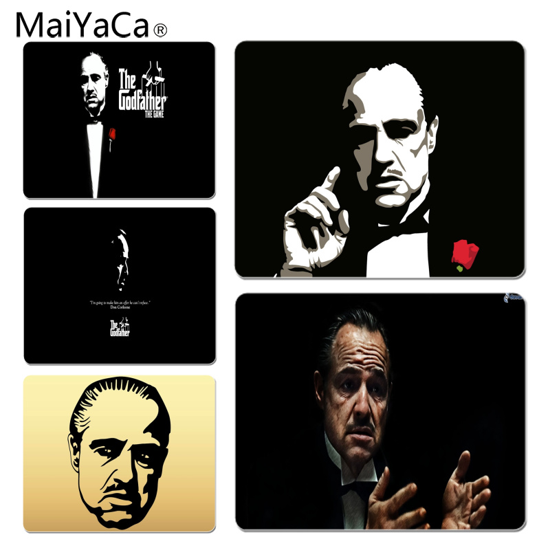 MaiYaCa The Godfather Don Corleone Large Mouse pad PC Computer mat Size for 18x22x0.2cm Gaming Mousepads