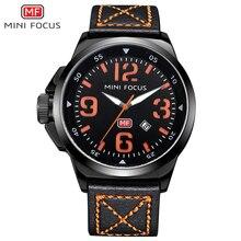 MINI FOCUS Fashion Brand Luxury Men Watches Male Quartz Sport Military Army Wrist Watch Men Clock reloj hombre relogio masculino