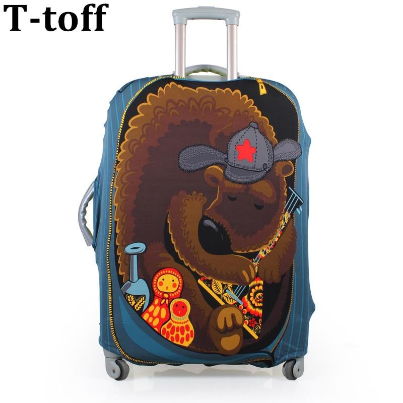 กระเป๋าเดินทางกระเป๋าป้องกันฝาครอบยืดทำสำหรับ 20,24,28 นิ้วนำไปใช้กับ 18-30 นิ้วกรณี