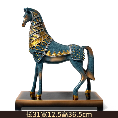 gifts wedding room decor decoration craft Home Furnishing European style living room TV cabinet housewarming gift horse