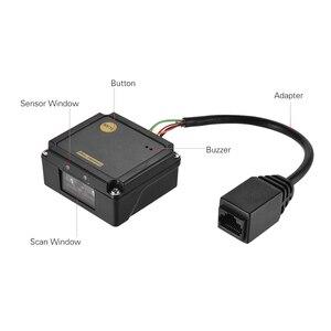 Image 2 - جزءا لا يتجزأ من 1D الباركود الماسح الضوئي قارئ وحدة CCD الباركود الماسح الضوئي وحدة المحرك مع RS232 واجهة USB يدعم 1D بار رموز