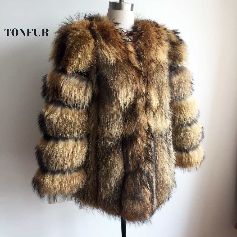 Genuine Pig Leather With Full Pelt Real Natural Fox Fur