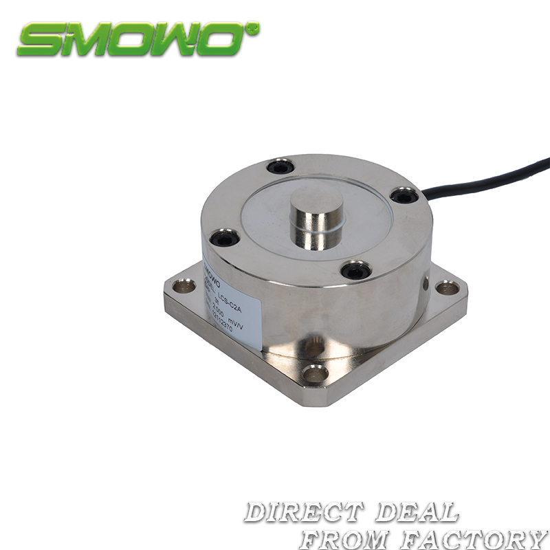 sensor/load cell LCS-C2A (300/500kg/1t/2/3/5/7/10/20/30/50/100t) 5 10 20 30 50 100 200 300 500 1000 2000 3000 kg 1 2 3 ton micro load cell button small compression weight sensor