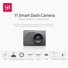 Видеорегистратор YI Smart Dash Camera HD | Беспроводное подключение  Wi-Fi| Угол обзора 165 градусов | Запись видео 1920×1080 при 60 к/с | Ночной режим | Хранение данных microSD (microSDXC) до 64 Гб