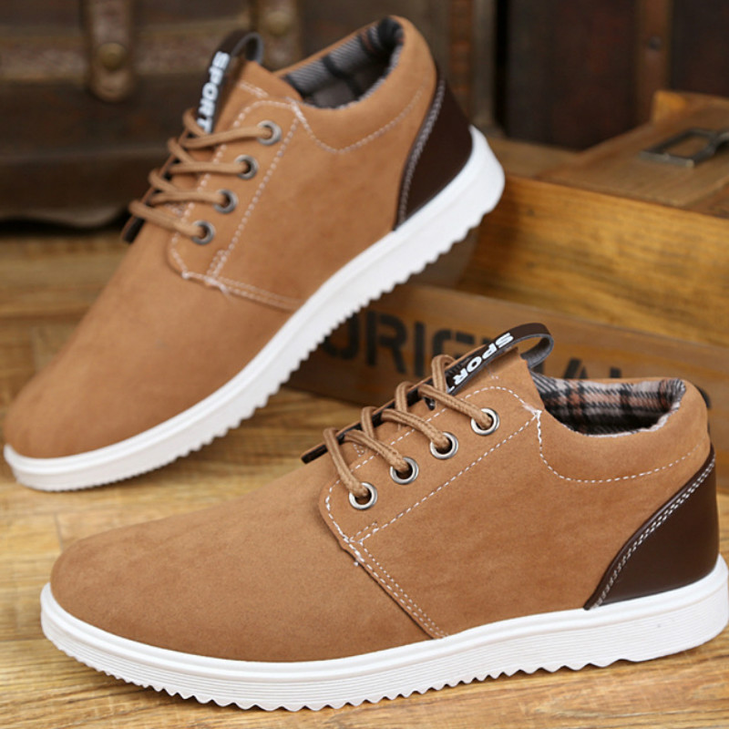 Hot Sale 2019 Fashion Men Casual Shoes Yellow Black Bottom Shoes for Adult Breathable Lace-up Male Shoes Zapatos Hombre T1-52(China)