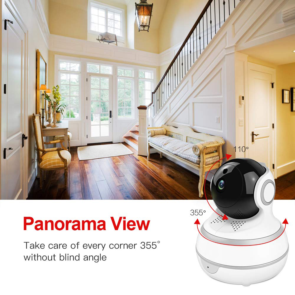 Image 4 - Lonsonho Smart Wifi IP Camera Wireless Home Security 1080P 2MP Two Way Audio Motion Detector IR Night Vision Tuya Smart Life APP-in Surveillance Cameras from Security & Protection