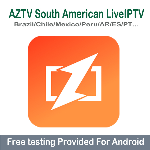 US $15 88 |For Android TV Box Brazilian IPTV Subscription Mexico Peru Latin  American Argentina Chile Channels Arabic Portugal Spain TV Code-in Set-top