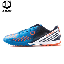 AOJU Professional Soccer Shoes 2018 Teenagers Sports Football Boots TF Turf AG Soles Sneakers Chuteira Futebol Soccer Cleats