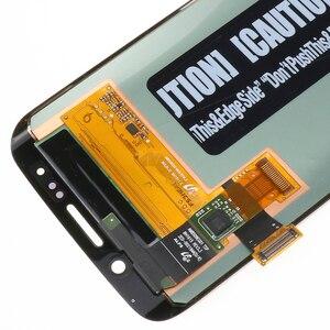 Image 5 - Oryginalny 5.1 wyświetlacz super amoled do SAMSUNG Galaxy s6 krawędzi LCD + rama G925 G925F G925I zamiana digitizera ekranu dotykowego