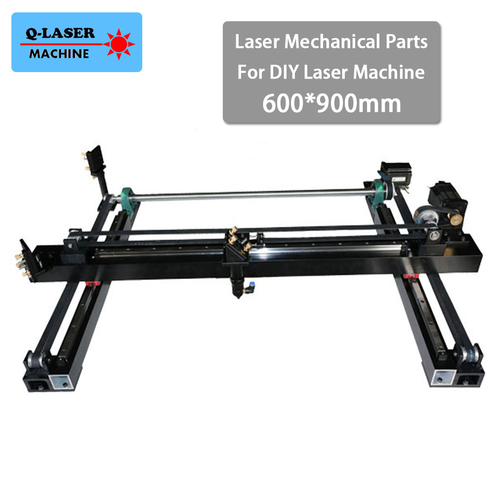 Co2 Laser Spare Parts Whole Cut Kit 600*900mm for DIY 6090 CO2 Laser Engraving Cutting Machine Laser Mechanical Parts Set co2 laser machine laser path size 1200 600mm 1200 800mm