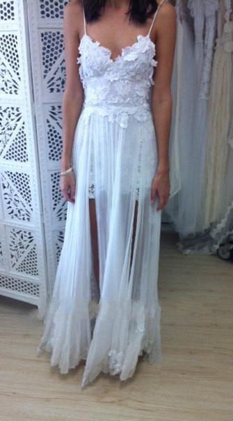Boho White Beach Dress