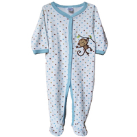100 Cotton Baby Rompers Monkey Newborn To 9M Carters Brand Baby Girl Boy Jumpsuits Long Sleeve