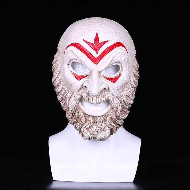 Assassin Creed Odyssey Villain Master Cosplay Resin Mask Halloween Party Mask 2