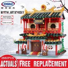 XingBao 01004 2531 Unids Genuino de Construcción Creativa Serie de Las Artes Marciales Chinas Establecen Los Niños Bloques de Construcción de Ladrillos de Juguetes Modelo