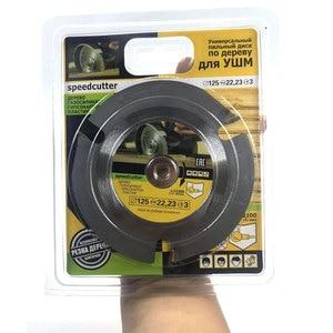 Image 2 - 125mm 3T hoja de sierra Circular multiherramienta amoladora Sierra disco de carburo con punta de madera disco de corte herramienta de tallado cuchillas multiherramienta