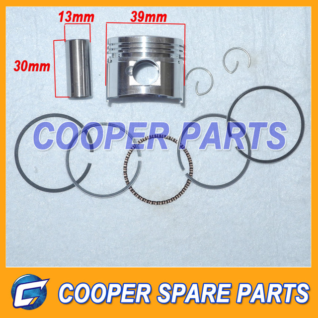 50cc,Piston kit include piston,ring,pin,clip for atv,pit bike with 50cc engine..