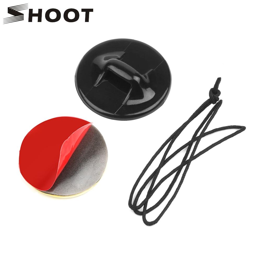 Шлем для стрельбы, защитная гирлянда для серфинга с наклейкой для GoPro Hero 8 7 5 Eken Sjcam Xiaomi Yi 4K, аксессуары для сёрфинга