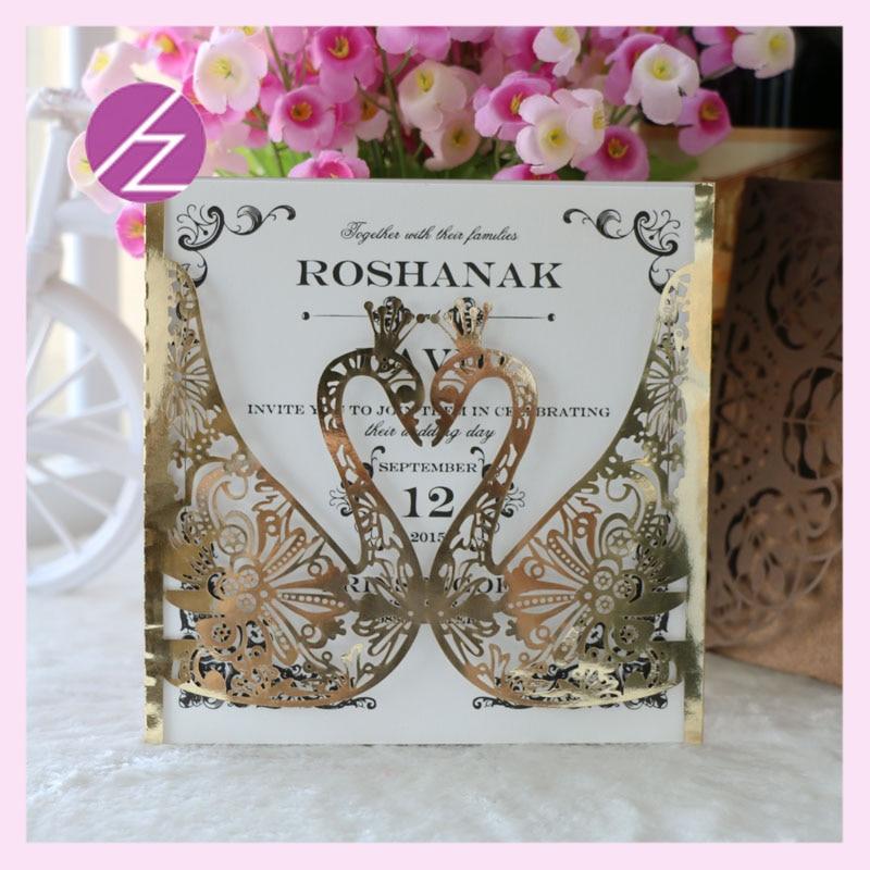 12pcs/lot Custom design good quality pearl paper wedding ...
