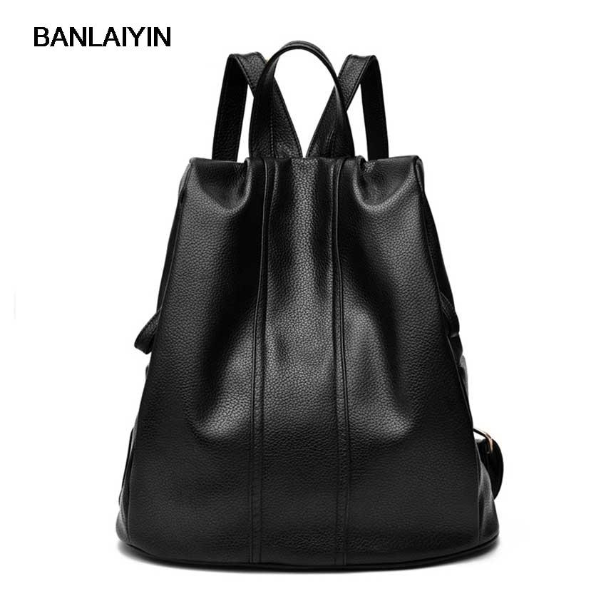 Women Fashionable Mini Tablet Computer Bag Minimalist Inner Bag Vogue Leisurely Noble Black Waterproof School Bag