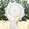 Lace Parasol Sun Umbrella Vintage Style Handmade Umbrellas Wedding Bridal Party Decoration Supplies Wedding Accessories Princess