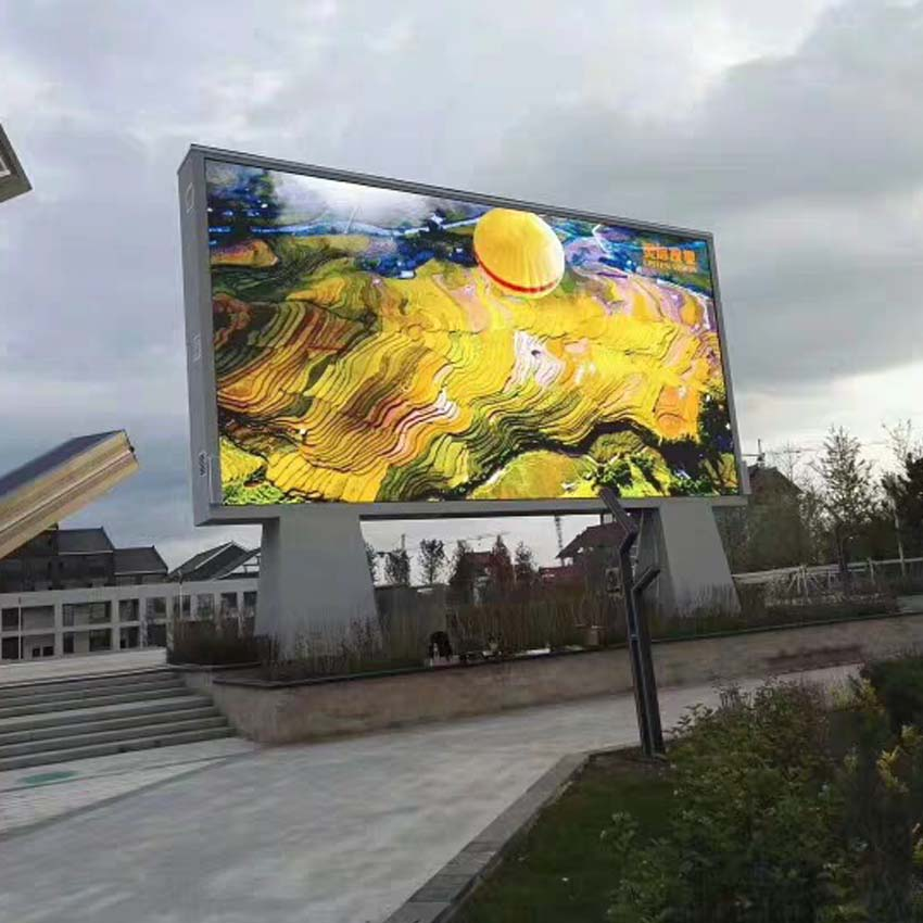 Smd P10 Outdoor Led Module Display Screen 960x960mm Led Display Panel For Outdoor Led Billboard