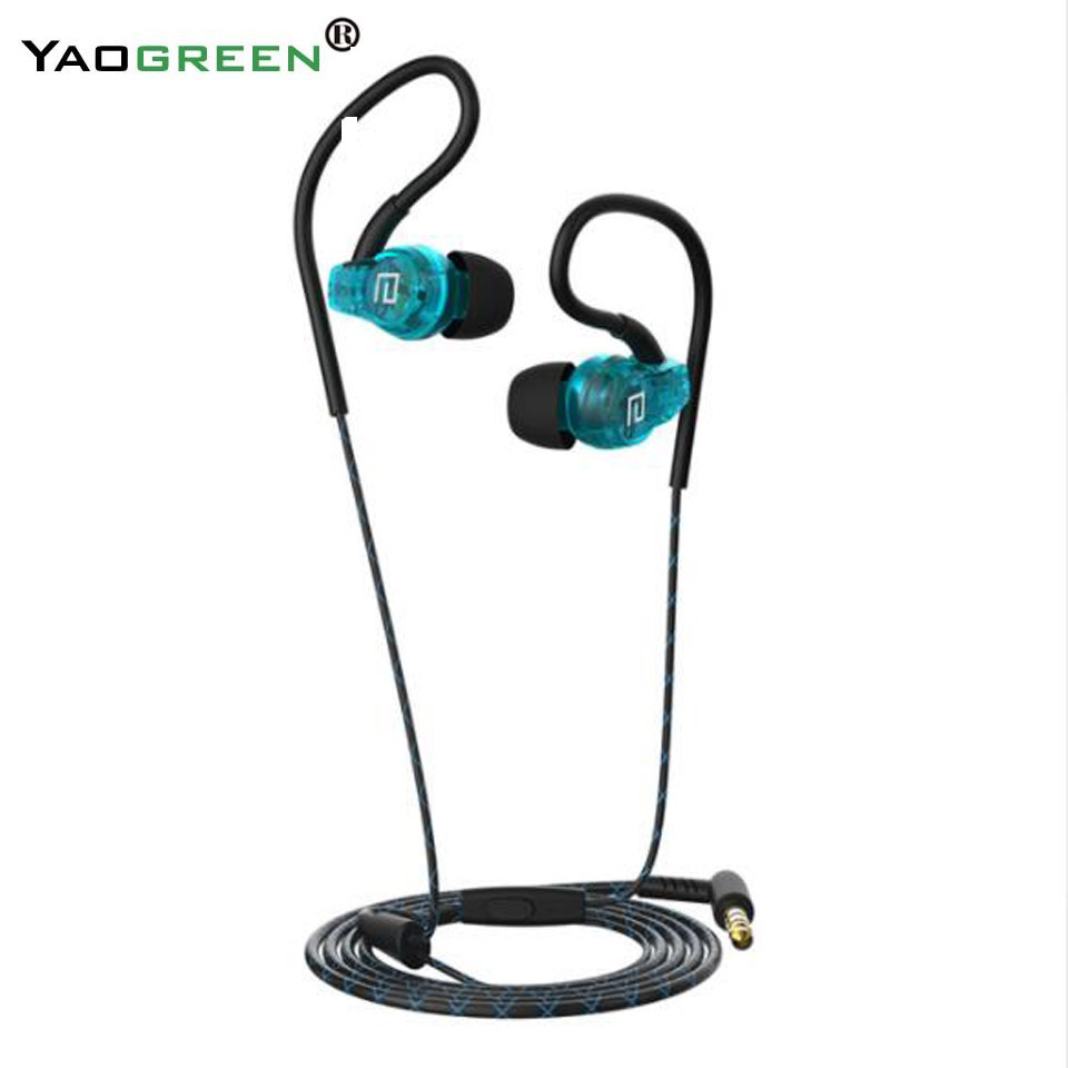 Fashion Stereo Sport Earphones for Phone Waterproof Music Earphone with Micro Running Headset for Phone Fone De Ouvido G5-009 qkz ck5 earphone sport earbuds stereo for apple xiaomi samsung music cell phone running headset dj with hd mic fone de ouvido