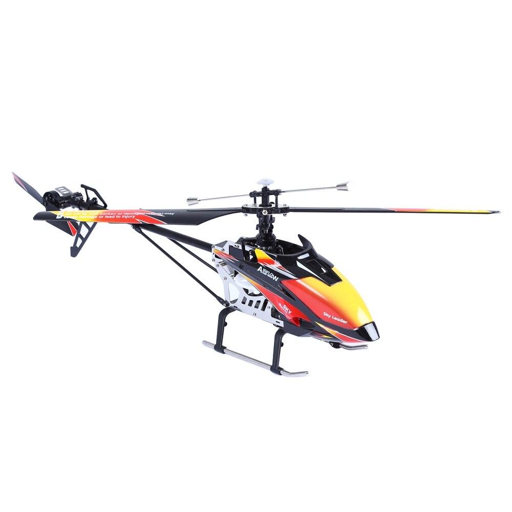 WLtoys V913 одного винта 2,4 г 4CH mems гироскопов вертолет с ЖК дисплей передатчик