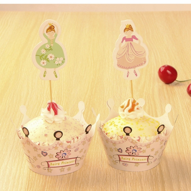Wedding Cake Topper Princess Emma Crown Cupcake Decorating for ...