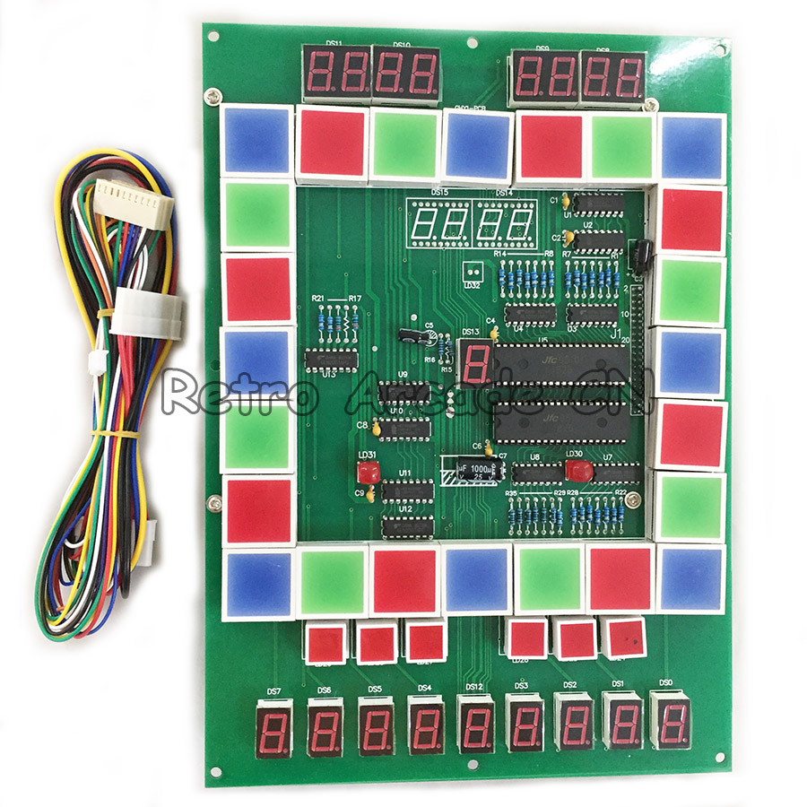 2pcs / Lot Mario Casino Slot Game PCB Arcade Games Board for Arcade Game Machine DIY / replacement2pcs / Lot Mario Casino Slot Game PCB Arcade Games Board for Arcade Game Machine DIY / replacement