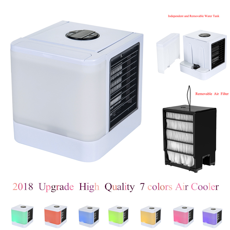 2018 Original Version Air Cooler Small Mini Fans Air Cooling Fan Arctic Cooler Summer Portable Strong Wind Air Conditioning