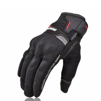 Rękawice motocyklowe letnie Motocross Off Road rękawice pełny palec motocykl Luvas ekran dotykowy kolarstwo wyścigi Guantes Motocicleta tanie i dobre opinie Pro-biker Unisex Oddychająca Poliestru i nylonu Motorcycle Glove Motocross Racing Gloves gloves summer motorcycle