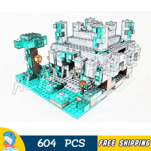 604pcs Meu Mundo O Templo Da Selva Labirinto Treasure Chest 10623 Modelo Building Blocks Crianças Bricks Compatível com Lago Minecrafted(China)